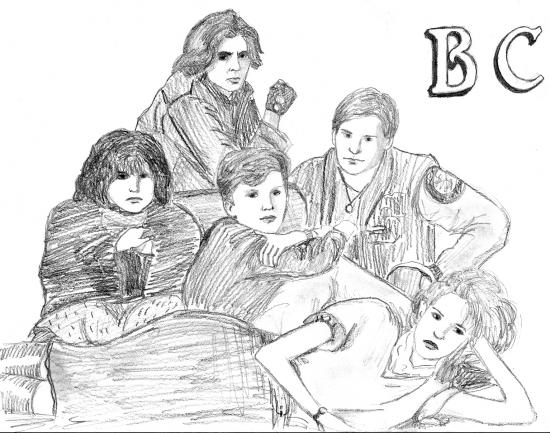 Emilio Estevez, Molly Ringwald, Judd Nelson, Ally Sheedy, Anthony Michael Hall by bobeck